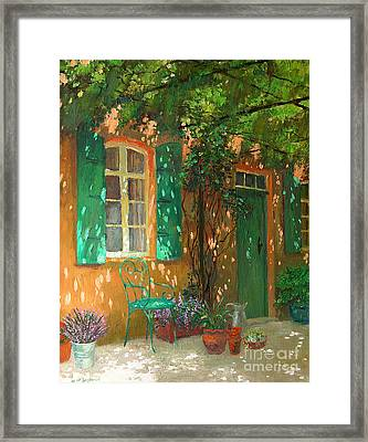 Arbour Framed Print by William Ireland