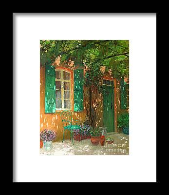 Dappled Sunlight Framed Prints