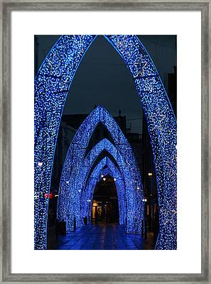Arc Away From You Framed Print by Jez C Self