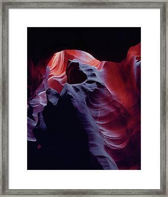 Arc Light-v Framed Print