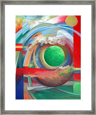 Arc Framed Print by Muriel Dolemieux