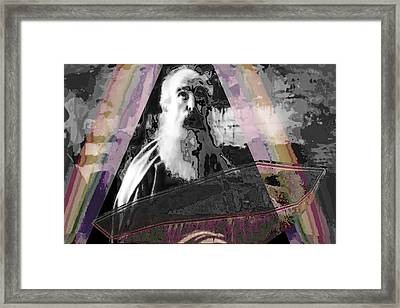 Arc Ark  Of Noah  A Graphic Creation To Symbolise What Still Remains Uncovered. Framed Print