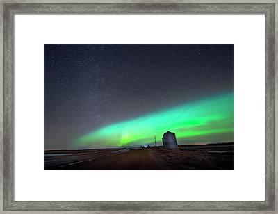 Arc Of The Aurora Framed Print