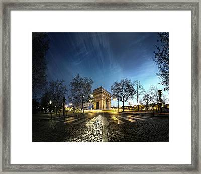 Arc Of Triumph Framed Print