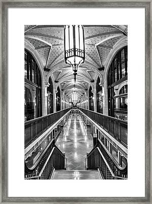Arcade Framed Print by Jae Mishra