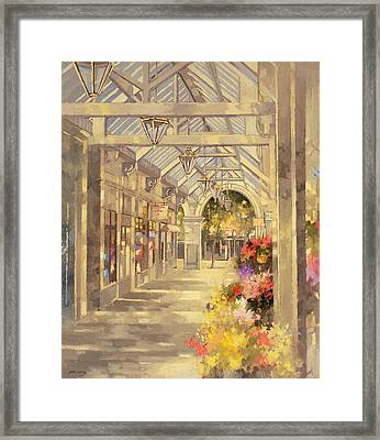 Arcade Framed Print by Peter Miller