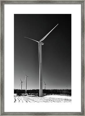 Arcade Wind Turbines 6557 Framed Print