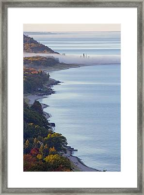 Arcadia Lakeshore Framed Print by Twenty Two North Photography