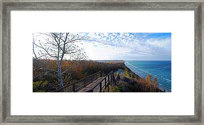 Arcadia Overlook In Fall Framed Print by Twenty Two North Photography