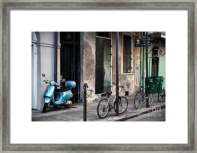 Arcadian Books Framed Print by John Rizzuto