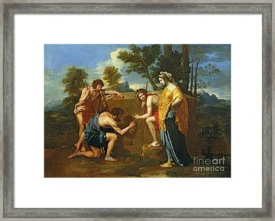 Arcadian Shepherds Framed Print