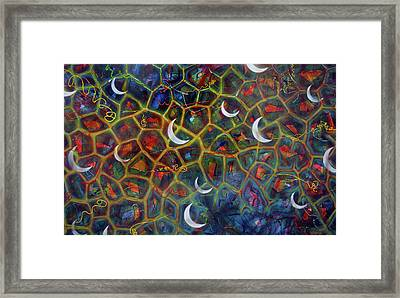 Arch 15 Crescents Part1 Framed Print
