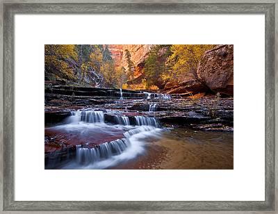 Arch Angel Falls Framed Print by Guy Schmickle