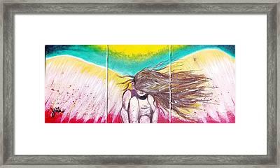 Arch Angel Michael Framed Print