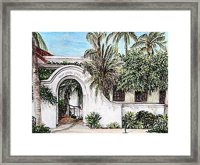 Arch Framed Print by Danuta Bennett