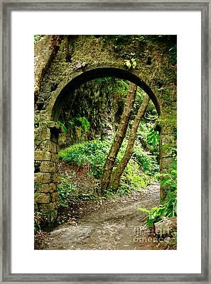 Arch Framed Print by Gaspar Avila