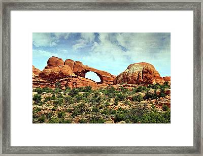 Arch In The Distance Framed Print