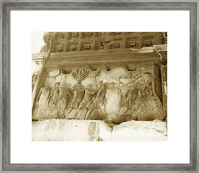 Arch Of Titus Framed Print by Photo Researchers, Inc.