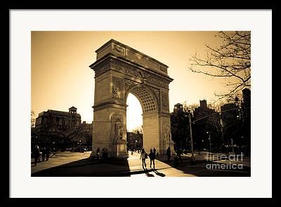 Washington Square Framed Prints