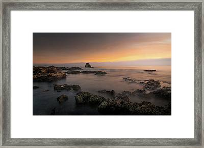 Arch Rock At Little Corona Framed Print by Ralph Vazquez