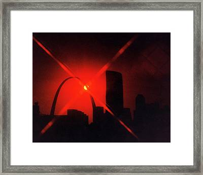 Framed Print featuring the photograph Arch Study 1 by Christopher McKenzie