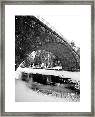 Arch Framed Print by Tapio Koivula