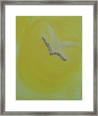 Archangel Gabriel Framed Print by Emerald GreenForest