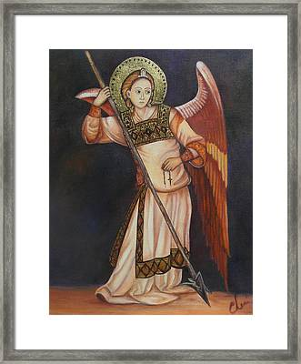 Archangel Michael Framed Print