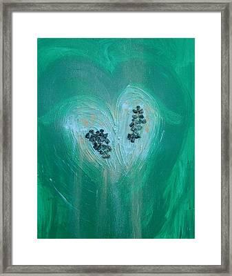 Archangel Raphael Framed Print by Emerald GreenForest
