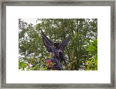 Archangel Framed Print by Tgchan