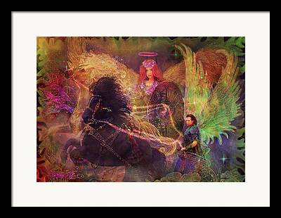 Archangel Ariel Framed Prints