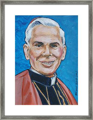 Archbishop Fulton J. Sheen Framed Print