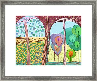 Archduo Framed Print