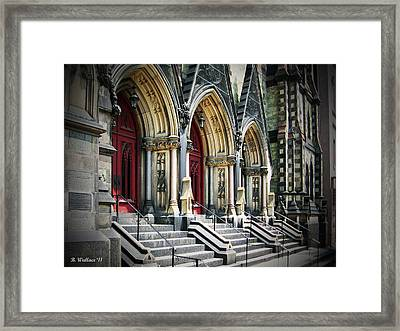Arched Doorways Framed Print by Brian Wallace