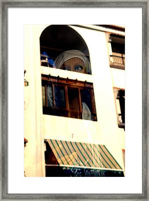 Arched Eyebrows Framed Print by Jez C Self