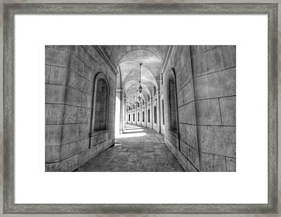 Arched Framed Print