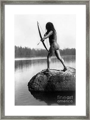 Archery: Nootka Indian Framed Print by Granger