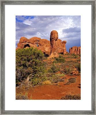 Arches 14 Framed Print by Marty Koch