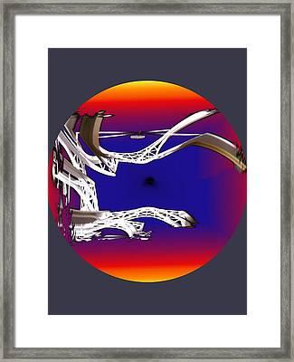 Arches 2 Framed Print by Tim Allen