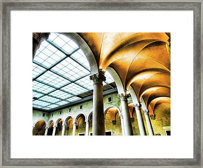 Arches-worcester Art Museum Framed Print