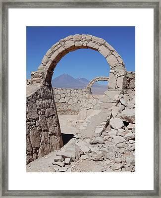 Pukara De Quitor Arches Framed Print