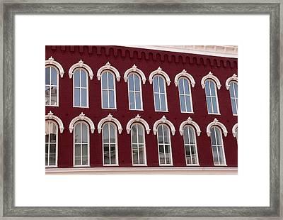 Arches Framed Print by David Bearden