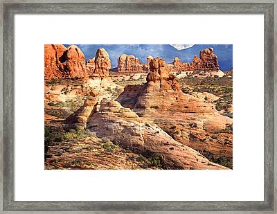 Arches Landscape 8 Framed Print by Marty Koch