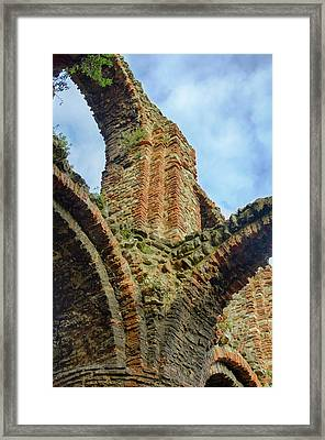 Arches Framed Print by Leah Palmer