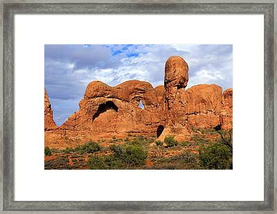 Arches National Park 8 Framed Print by Marty Koch