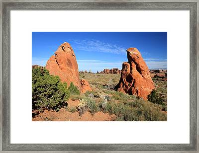 Arches National Park Framed Print by Pierre Leclerc Photography