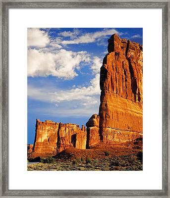 Arches National Park Utah Framed Print by Utah Images