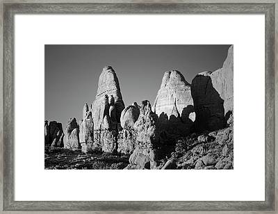 Arches Np II Bw Framed Print by David Gordon