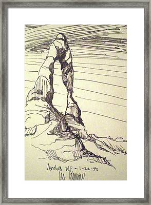Arches Np Framed Print