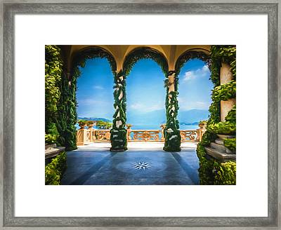 Arches Of Italy Framed Print by TK Goforth